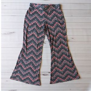 Mossimo Chevron Print Wide Flairs